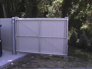 garbage enclosure