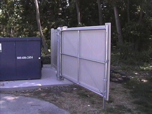 garbage enclosure 3
